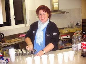 Photo: Die aufgestellte  Küchenchefin