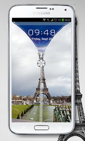 android NEW PRAY PARIS SCREEN LOCK Screenshot 3