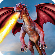 Flying Dragon Battle Simulator : City Attack