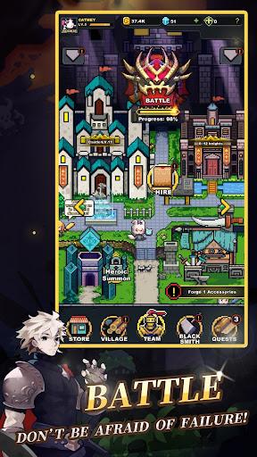 Infinite Knights - Turn-Based RPG 1.1.22 screenshots 1