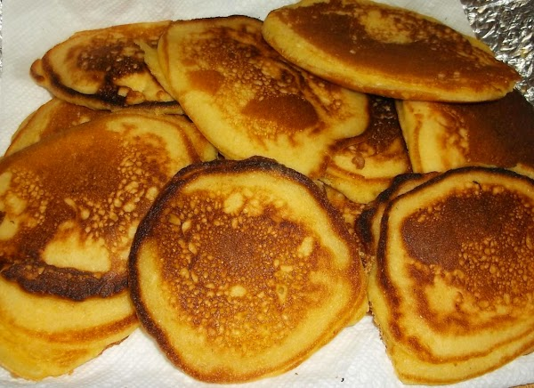 *NOTE: This is the link for the recipe for cornmeal pancakes http://www.justapinch.com/recipes/bread/flatbread/old-fashioned-cornmeal-pancakes-small-batch.html?p=1