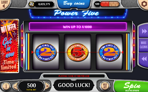 Vegas Power Slots - Free Real Vegas Slot Machines - náhled