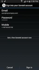 Sonetel screenshot 1