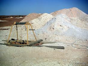 Photo: Opal mines