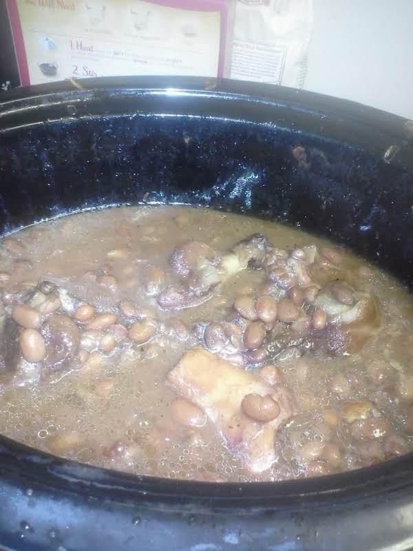 Crockpot Hamhocks And Pinto Beans Just A Pinch Recipes