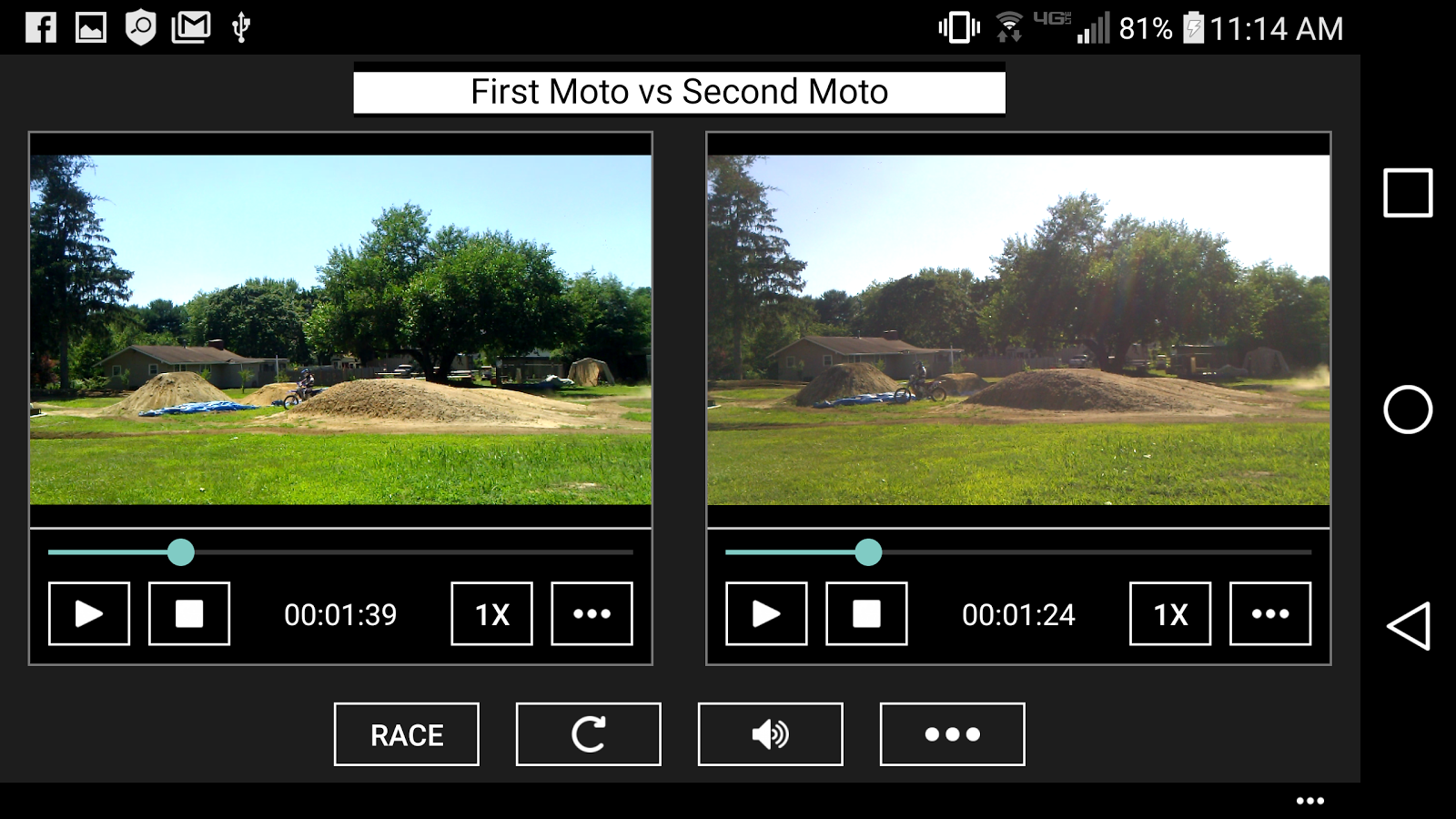 Match Race for Motocross and all forms of racing- screenshot