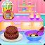 Fruit Chocolate Cake Cooking