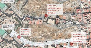 Principal transformación de la calle Pósito.