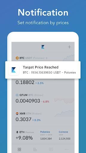 CoinManager- Bitcoin, Ethereum, Ripple finance app 1.04.83 screenshots 4