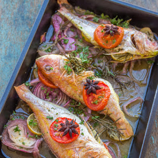 Baked Fish & Vegetables *Video Recipe*.