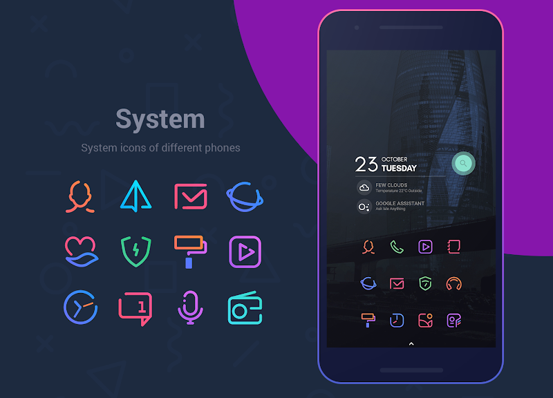 Linebit - Icon Pack Screenshot 3