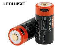 Ledwise Återuppladdningsbara batterier