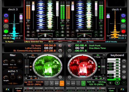 Mashup Dj Mixer screenshot