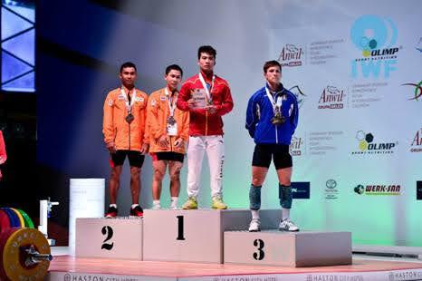 Mirco Scarantino conquista tre bronzi ai Mondiali Juniores di Wroclaw