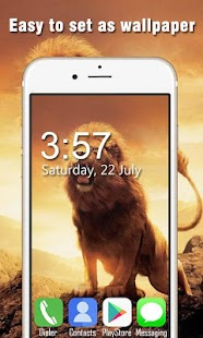 Lion Live Wallpapers HD - náhled