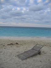 Photo: Yoga Retreat, Bahamas - chair on beach