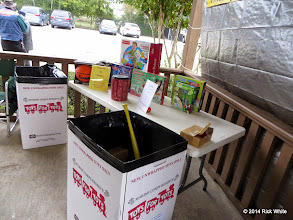 Photo: Toys for Tots collection station    HALS Public Run Day 2014-1115 RPW