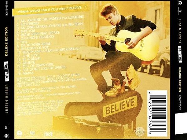 Photo: #Justin #Bieber 'Believe' tracklist :D