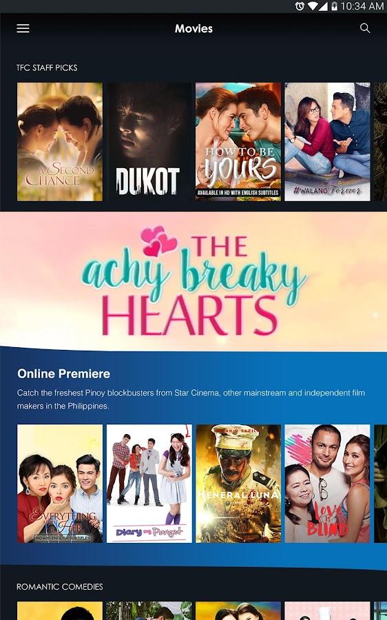 tfc watch pinoy tv movies screenshot