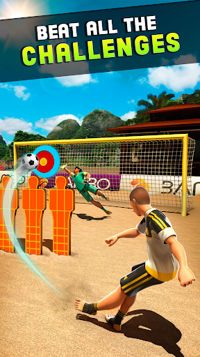 Shoot Goal - Beach Soccer Game  screenshots 1