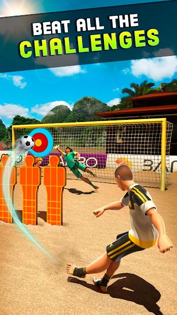 Shoot Goal - Beach Soccer Game Android App Screenshot