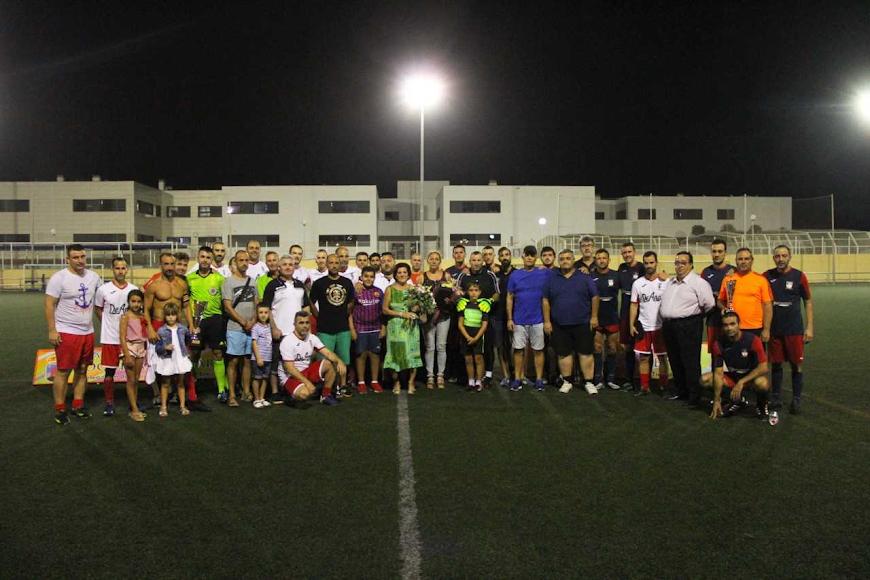 Los equipos participantes.