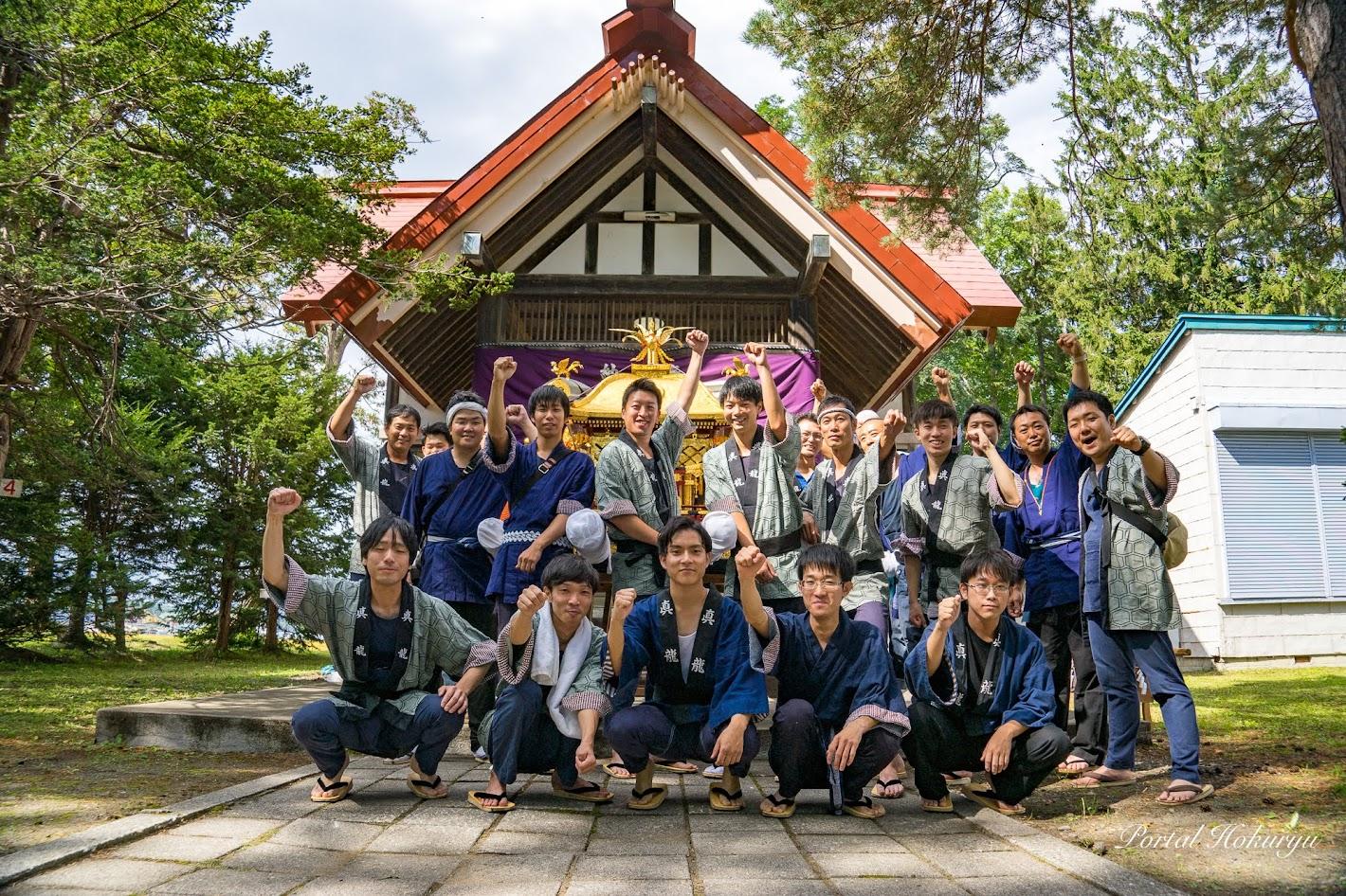 真竜神社秋季例大祭 2019