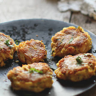 Crab and Prawn Cakes.