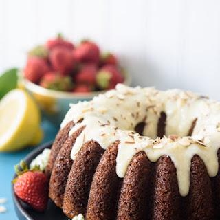 Strawberry Lemon Coffee Cake.