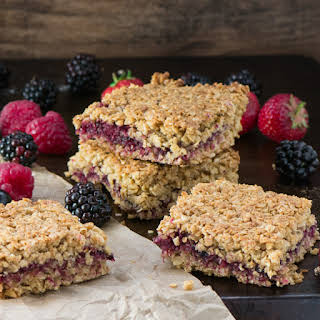 Summer Fruits Flapjacks.