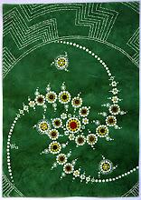Photo: Samsara, Acryl auf Seidenpapier