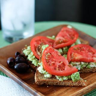 Avocado-Feta Toast with Za'atar.