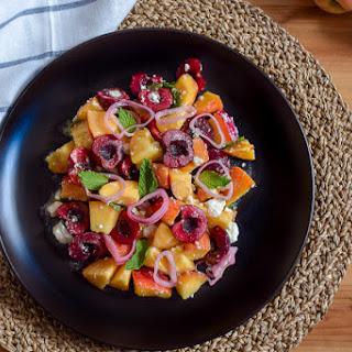 Stone Fruit Salad Recipe