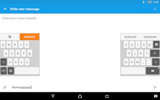 Screenshot of Xperia Keyboard