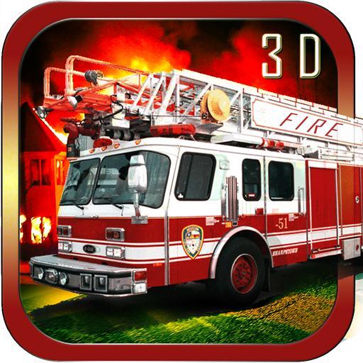 Fire Truck Simulator 2015 模擬 App LOGO-硬是要APP