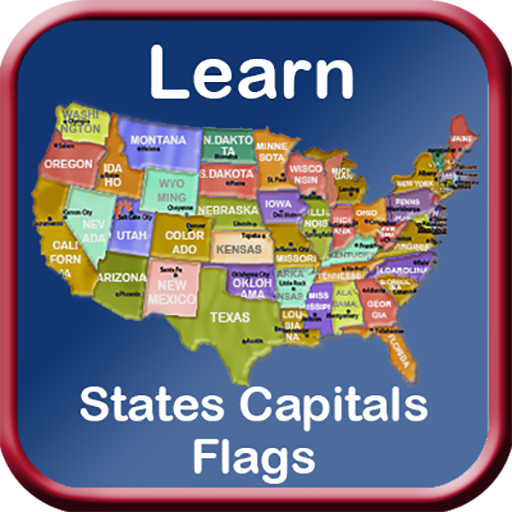 States Capitals Flags Learn US
