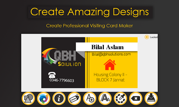 Download business card maker 2018 visiting card maker pro apk business card maker 2018 visiting card maker pro poster reheart Images