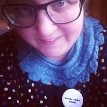 Photo: Sunday I wore my Gratitude shawl, and Sandy wore hers. I also wore my new and very appropriate pin.