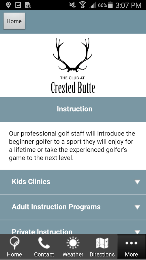 The Club at Crested Butte- screenshot
