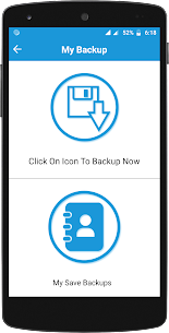Contacts Backup And Restore App Download For Android 1