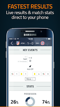 Στόχος Live Scores APK screenshot thumbnail 4