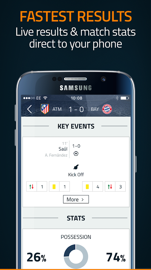 Goal Live Scores- screenshot