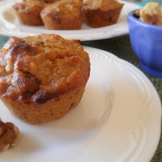 Oat Flour Morning Glory Muffins.