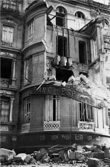 Fachada del edificio del Banco de España