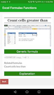 Learn Excel Formulas Functions Example App Offline 2