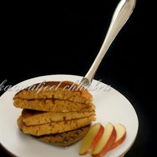 Eggless whole wheat Dorayaki ( Doremon cake )