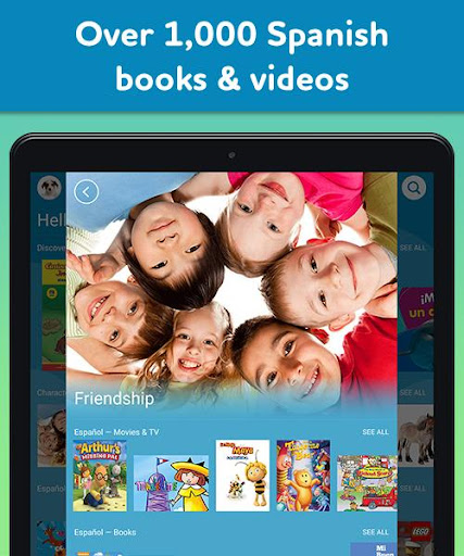 Amazon FreeTime Unlimited: Kids Shows, Games, More 2.0.0.203376 screenshots 16