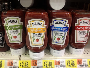 Photo: I also noticed a lot of new Heinz varieties.