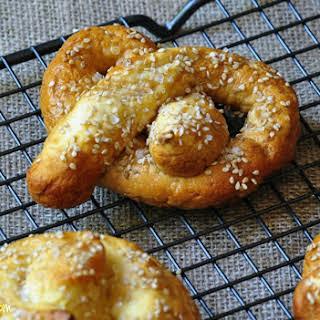Homemade Soft Pretzels Gluten Free.