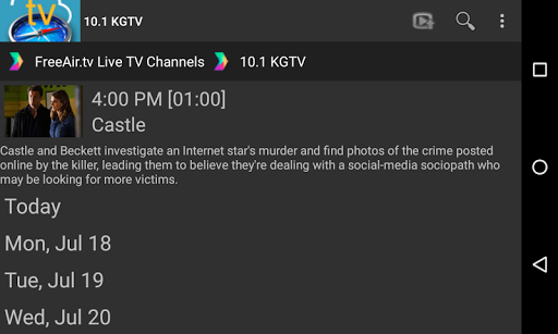FreeAir.tv: Watch, Pause, Record Live TV anywhere 3.12.01 screenshots 19
